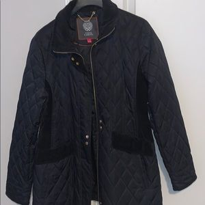 Navy Vince camuto jacket